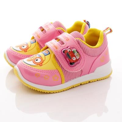 Pororo童鞋-LED電燈運動鞋款-6003粉(中大童段)HN