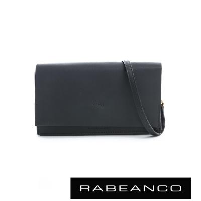 RABEANCO 迷時尚系列多夾層小方包 -暗灰藍