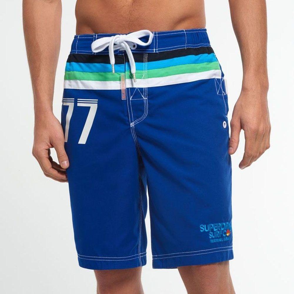 SUPERDRY 極度乾燥 男 短褲 藍色 0730