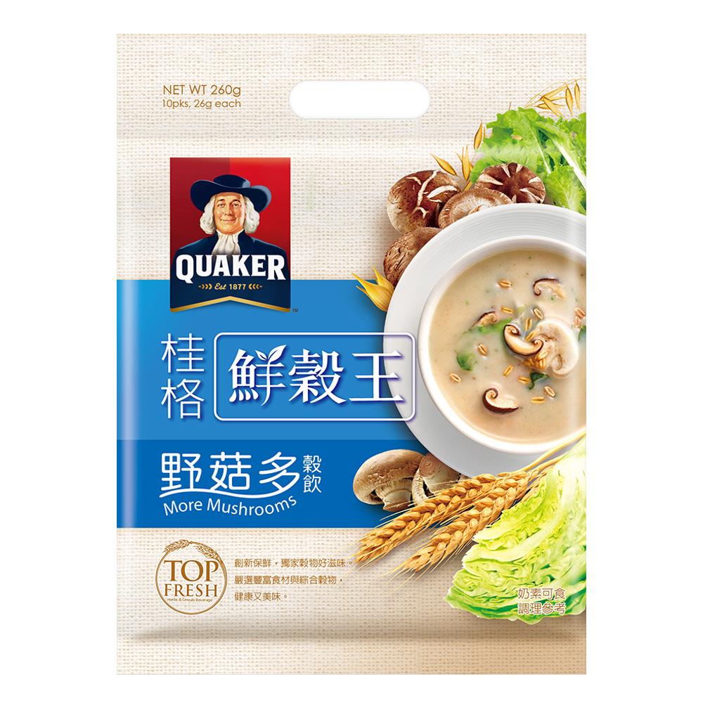 桂格 桂格鮮穀王-野菇多(26gx10入)