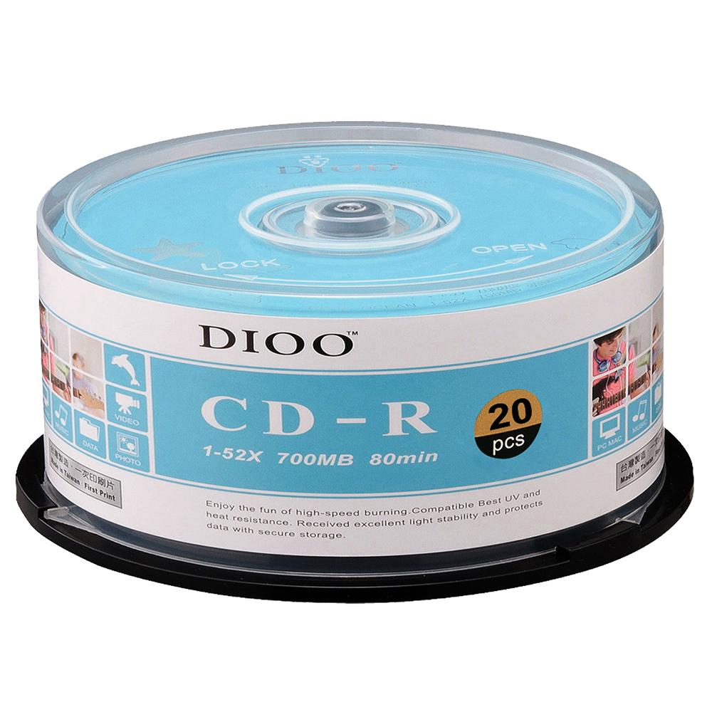 DIOO 海洋版 52X CD-R 20片桶