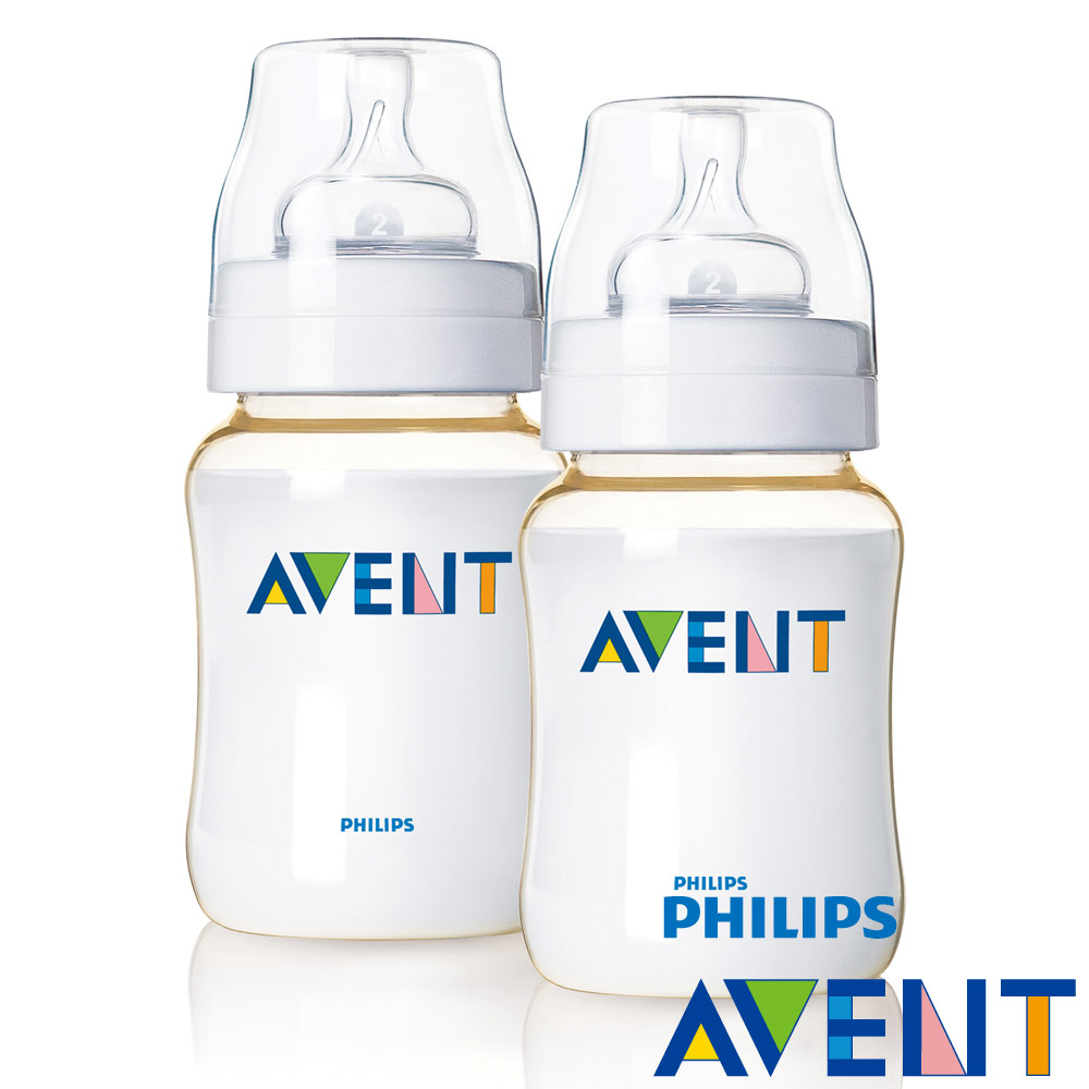 【PHILIPS AVENT】  PES防脹氣奶瓶260ml(2入)
