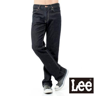 Lee 牛仔褲 727 Regional中腰標準直筒-男款-深黑藍