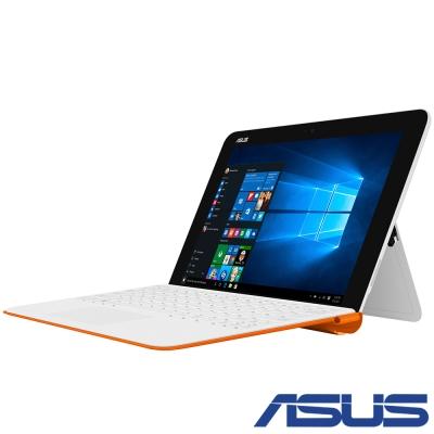 ASUS T102 10吋四核平板筆電(x5-Z8350/128G/4G/790g/白+橘)