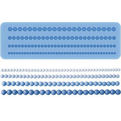TESCOMA 矽膠翻糖花邊壓模(珍珠)