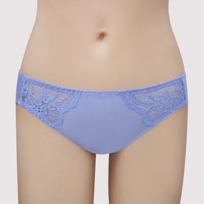 瑪登瑪朵-14AW S-Select  低腰三角萊克褲(漾彩藍)