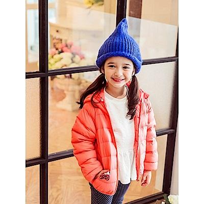 HELLO KITTY極輕羽絨系列~連帽外套‧童4色-OB大尺碼