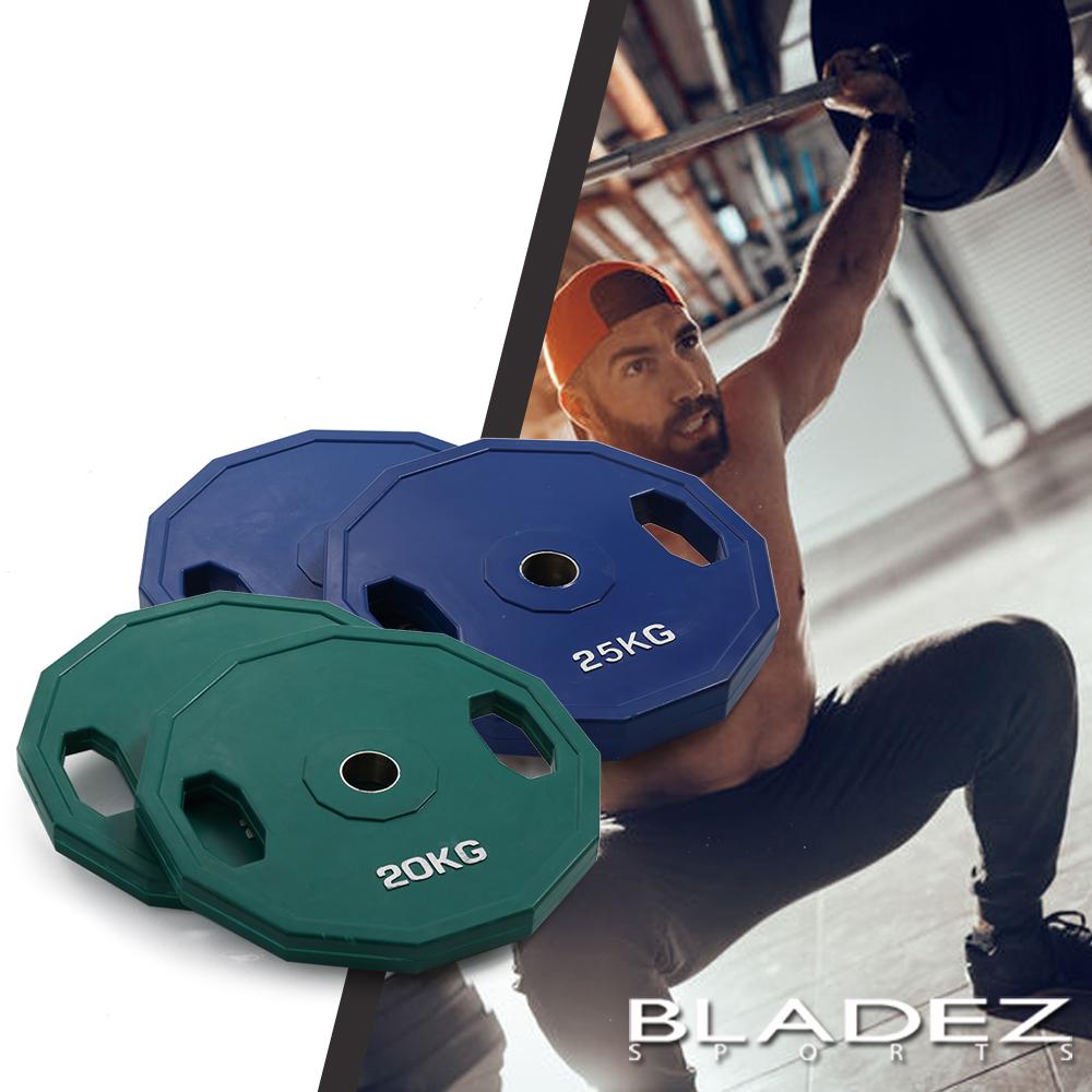 【BLADEZ】奧林匹克槓片90KG大重量組合-(20KG-2入/25KG-2入)