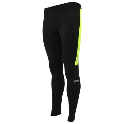 NCAA-專業塑身機能褲-黑螢光黃-女款