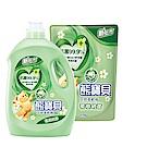 熊寶貝 衣物柔軟精超值1+6組_茶樹抗菌(3.0L x 1瓶+1.75L x 6包)