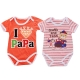 寶寶短袖連身衣(2件一組)  k50044