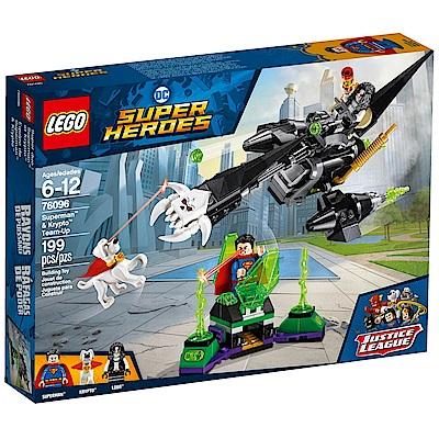樂高LEGO 超級英雄系列 - LT76096 Superman? & Krypto? T