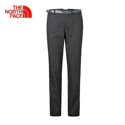 The North Face北面女款黑色防水透氣修身長褲