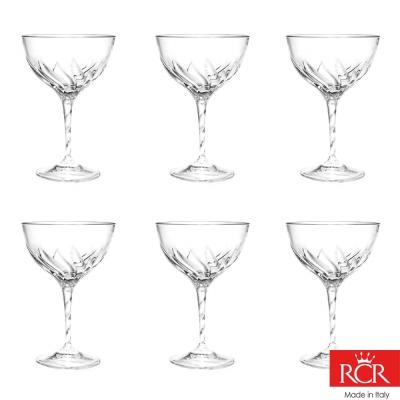 義大利RCR芙蓉蔓無鉛水晶馬丁尼杯 (6入)380cc(8H)
