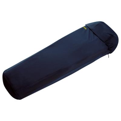 【ATUNAS 歐都納】吸濕排汗保暖天鵝絨睡袋內套(登山/露營/野宿A-SB1502深藍)