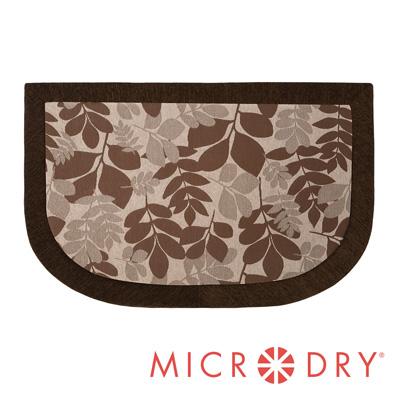 Microdry 時尚地墊 雙色舒適多功能地墊【春天棕/ F】(50x80cm)