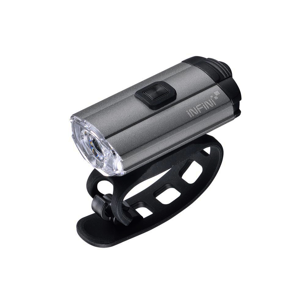 INFINI TRON 100 I-280P 白光USB充電式前燈 鐵灰