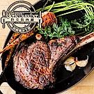 約克街肉鋪  澳洲榖飼戰斧牛排4片(500g±10%,18盎斯/片)