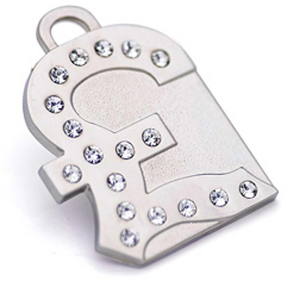 澳洲品牌Hamish McBeth - BlingBling水晶吊牌、銀色英磅