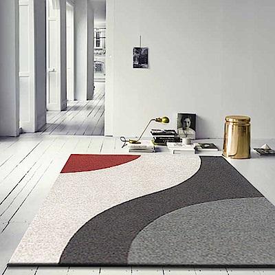 【范登伯格】艾斯-流線風格設計進口地毯-160x230cm