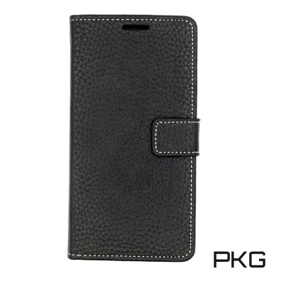 PKG Apple IPHONE X 側翻式皮套-時尚荔枝紋皮套系列