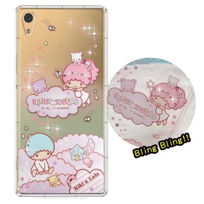 正版雙子星SONY Xperia XA1 Ultra 夢幻童話 彩鑽氣墊手機殼(...