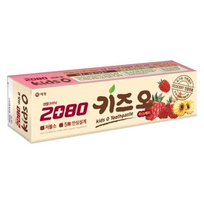 韓國2080 有機莓果兒童牙膏(100gX2入)