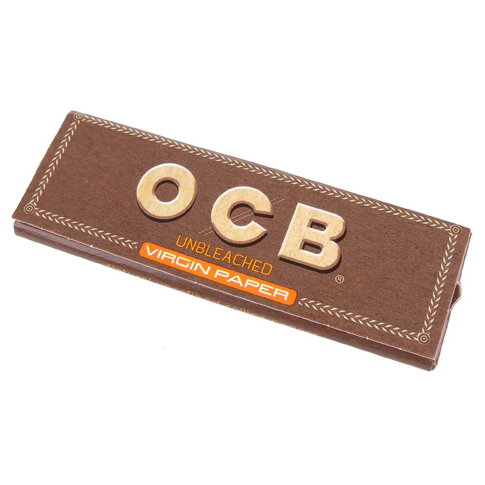 OCB 法國進口-Virgin-純天然未漂白超薄捲煙紙*10包