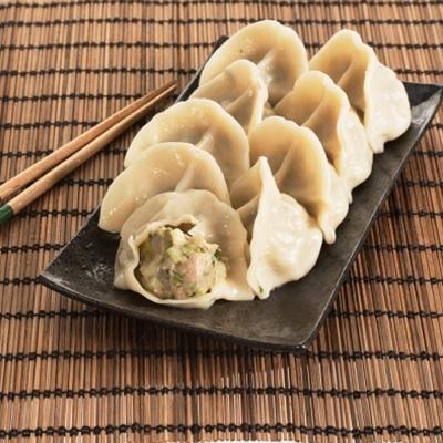 台北士東市場123水餃 韭黃豬肉餃(10顆/盒)
