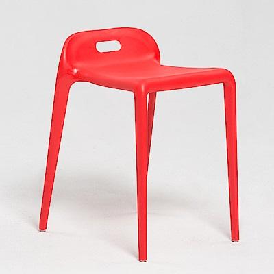 IDEA-簡約圓角造型休閒椅-四色可選