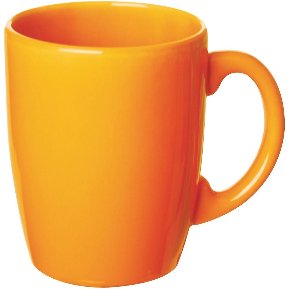 EXCELSA 陶製馬克杯(橘260ml)