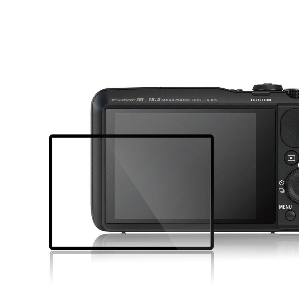 GGS第四代LARMOR金鋼防爆玻璃靜電吸附相機保護貼-SONY SONY HX30V專用