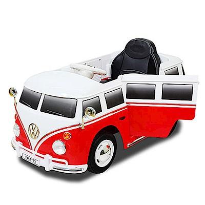 福斯電動麵包車/VW RIDE-ON/可遙控
