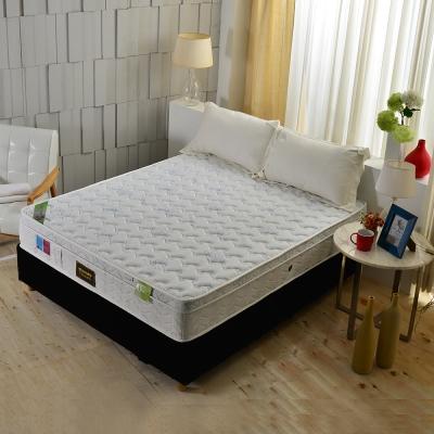 Ally愛麗 單人3.5尺 天嵐三線天絲棉乳膠護邊獨立筒床墊 麵包床Tiffany藍