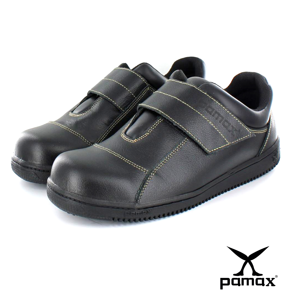PAMAX帕瑪斯【超彈力氣墊止滑鞋】魔鬼氈防滑鞋、廚房工作鞋. 男女