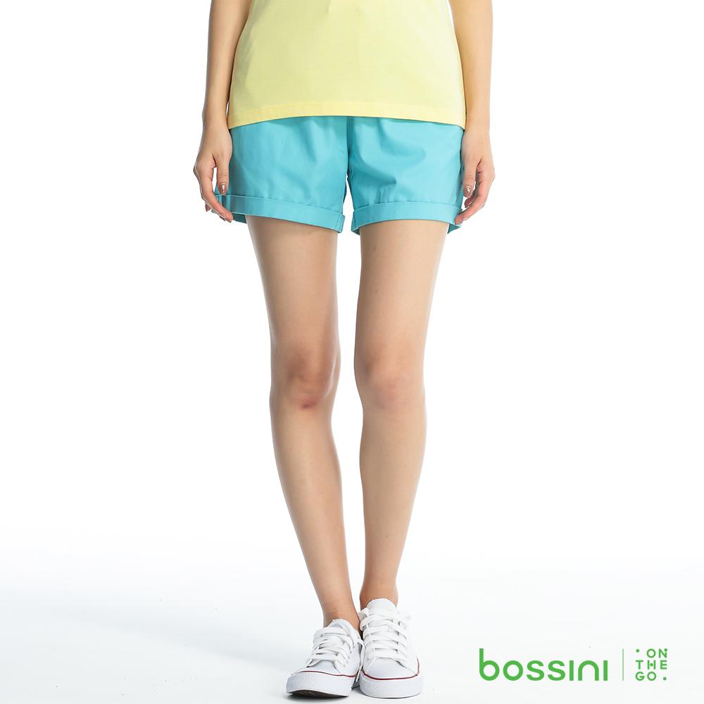 bossini女裝-輕便短褲05淺綠松