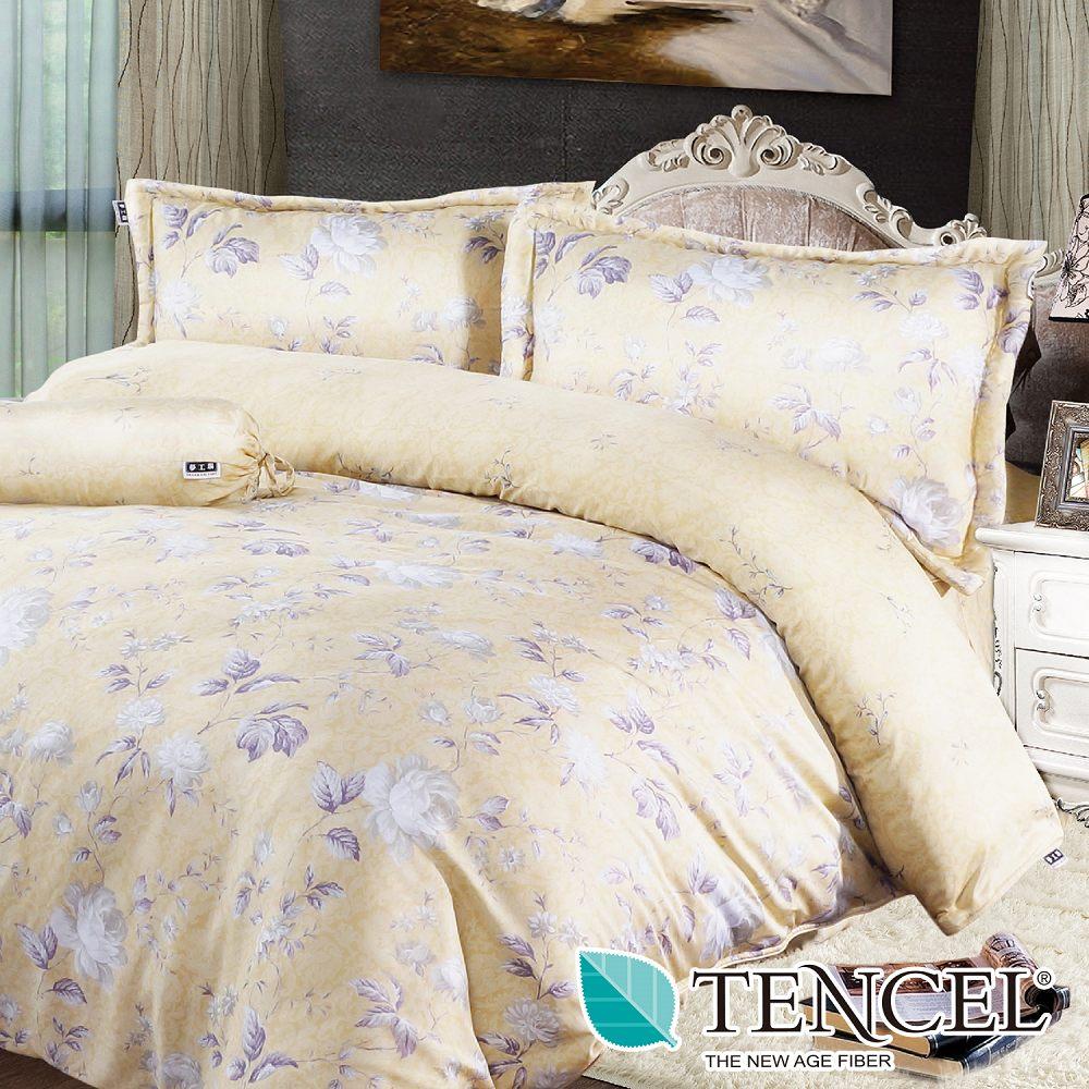 夢工場 花想春風 天絲雙人五件式床罩組