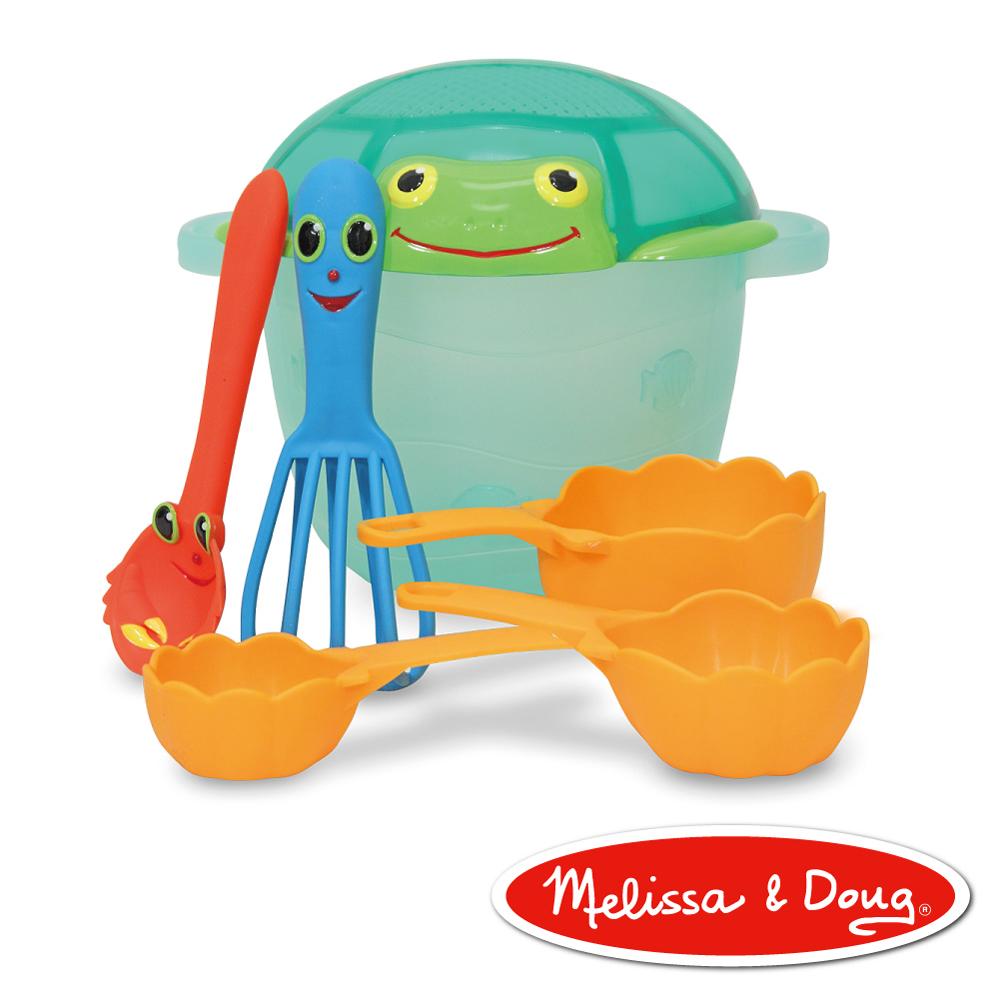美國瑪莉莎 Melissa & Doug  卡通造型玩沙烘培組