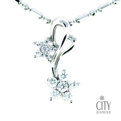 City Diamond『星星相戀』K金項鍊