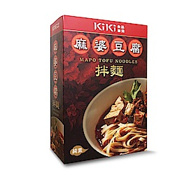 KiKi食品雜貨 麻婆豆腐拌麵 (麻婆豆腐包320g+麵條80g/入)