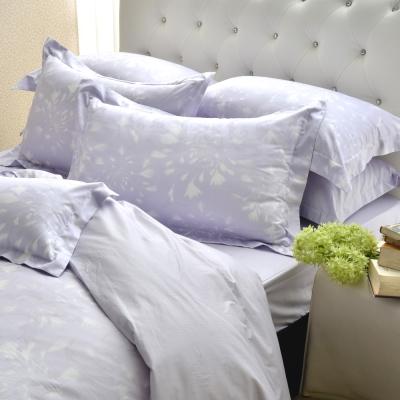 MONTAGUT-普羅旺斯的浪漫-精緻緹花-雙人四件式兩用被床包組