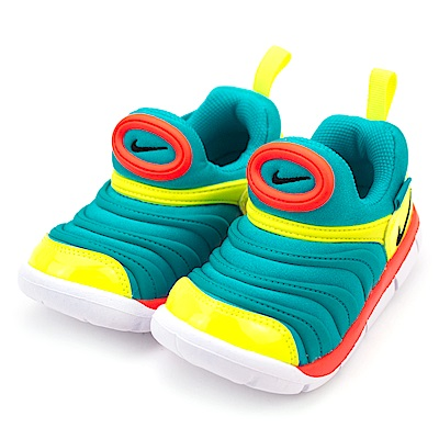 24H-NIKE-幼童鞋343938423-藍黃橘