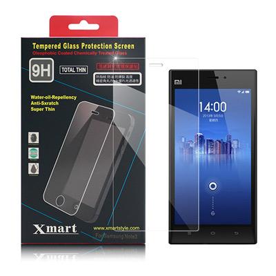 X mart MIUI 紅米機 強化0.26mm耐磨防指紋玻璃保護貼