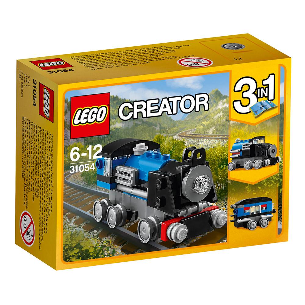 任選 LEGO樂高 3合1創作系列 31054 藍色快車 (6Y+)