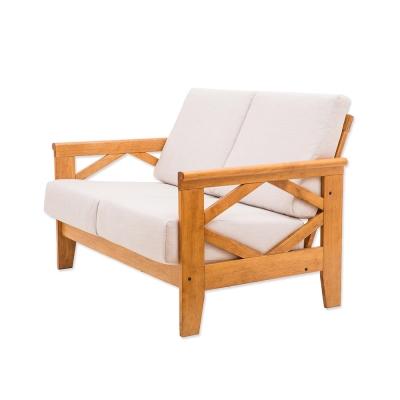 日木家居 Teddy泰得實木雙人沙發