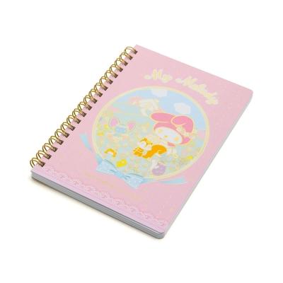 Sanrio 美樂蒂40週年快樂紀念日系列B6線圈筆記本(花園好朋友)