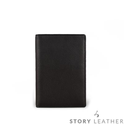 STORY皮套王-牛皮護照夾