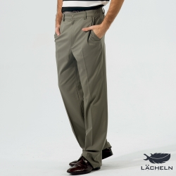 【LACHELN】吸排經典百搭長褲-墨灰(L62M701)