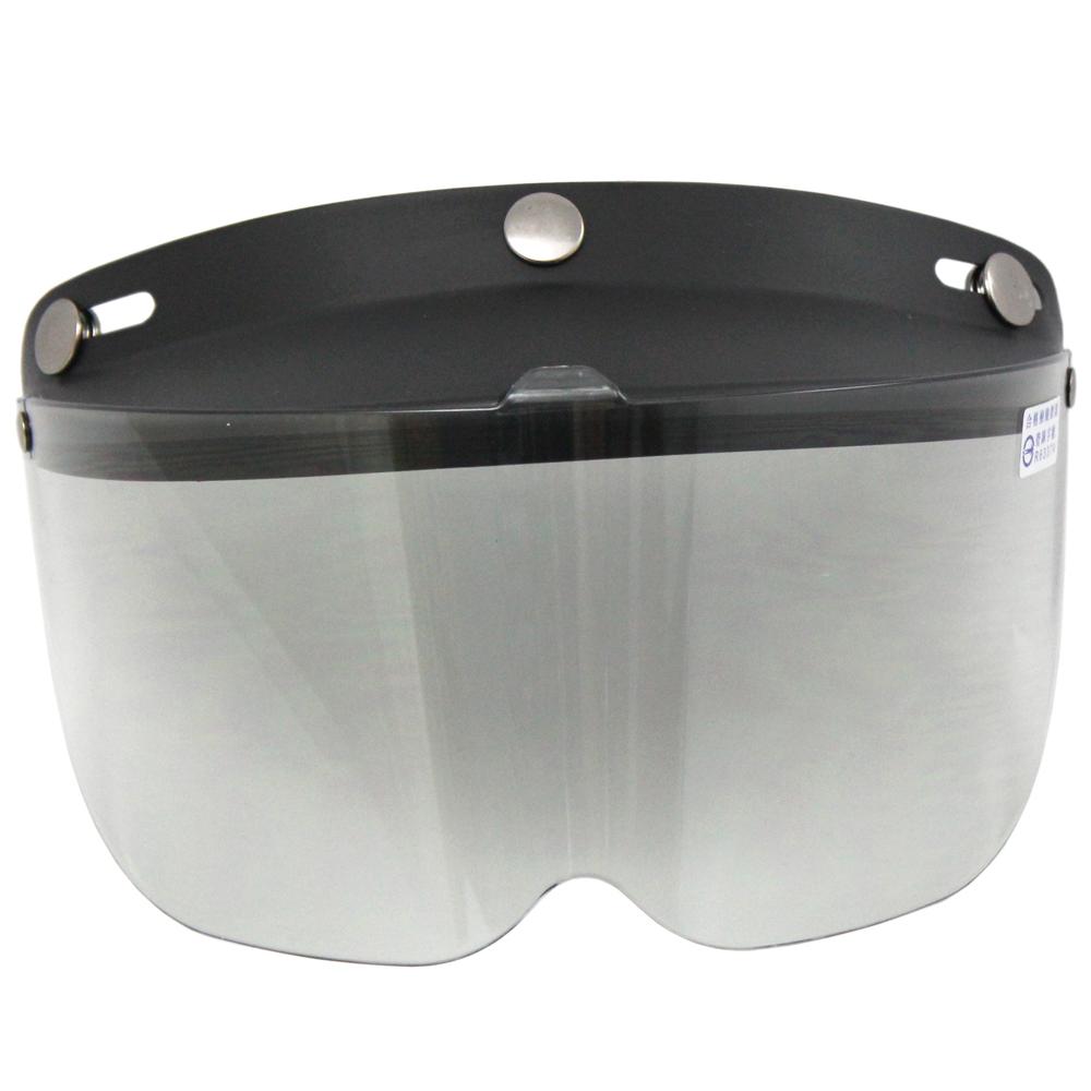 耐磨抗uv安全帽護目鏡-短鏡片-2入