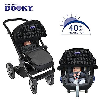 荷蘭dooky-抗UV萬用推車遮陽罩-異國蒙黑